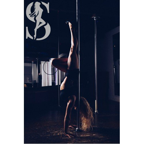 portable spinning dance pole, pole dancing pole for home